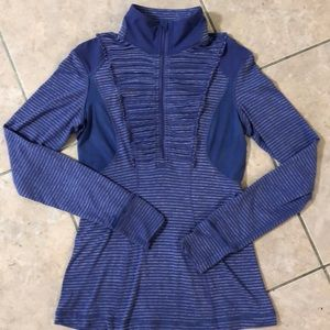 LN! Lululemon Run your Heart Out 1/4 zip pullover